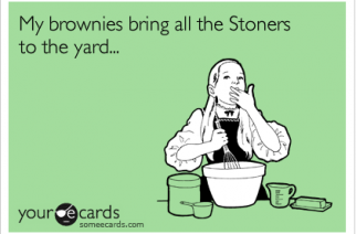 Stoner Brownies Brings Stoners To The Yard Milkshake Weed Memes