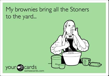 Stoner Brownies Brings Stoners To The Yard Milkshake Weed Memes