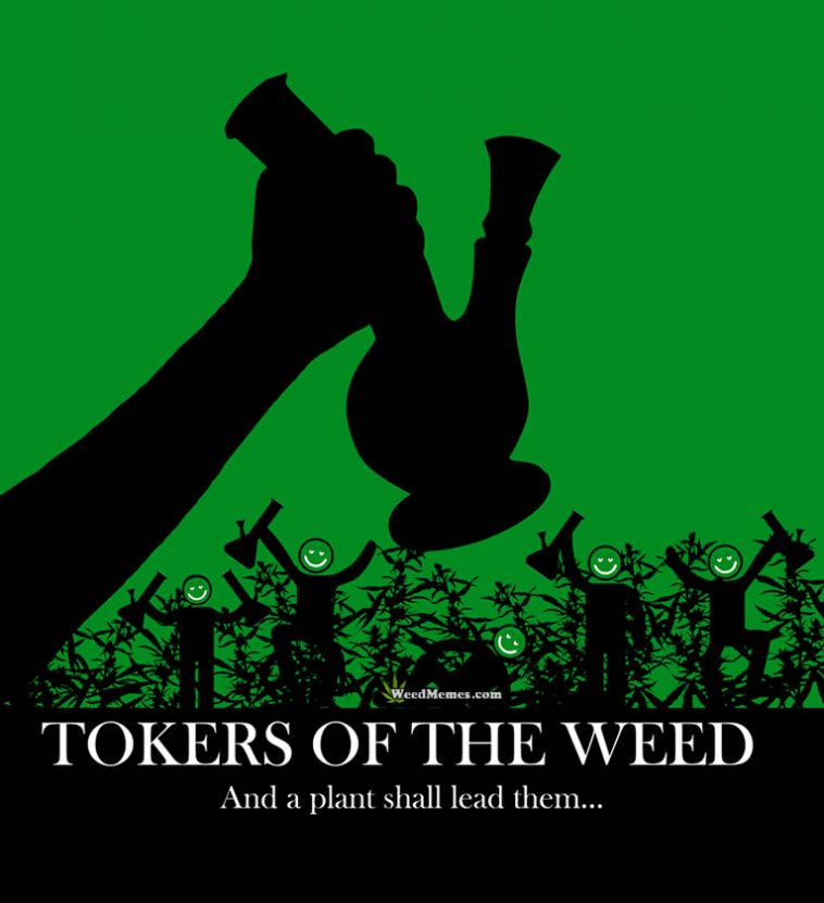 children of corn weed memes 758x831 children of the corn poster spoof tokers of the weed memes